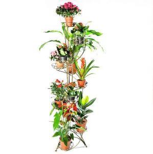 Подставка для цветов Башня Спираль 12