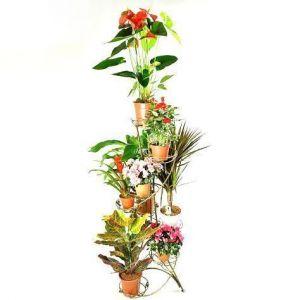 Подставка для цветов Башня Спираль 8