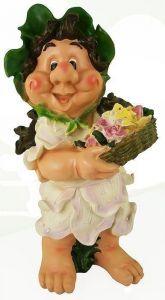 Фигурка декоративная Девочка с цветами