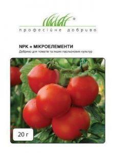 Удобрение для томатов NPK+микроэлементы