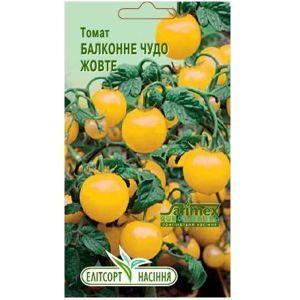 Томат Балконное Чудо, желтый