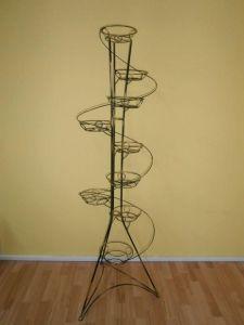 Кованая подставка Башня спираль (квадратный профиль)