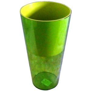 Горшок для цветов Вулкано Премиум-200, зеленый