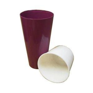Горшок для цветов Вулкано Премиум-150, пурпурный