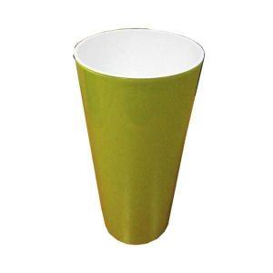 Горшок для цветов Вулкано Премиум-150, фисташковый