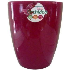 Вазон для орхидей пурпурный 1,3 л