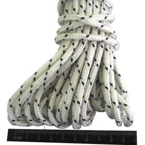 Шнур капроновый плетеный 4 мм