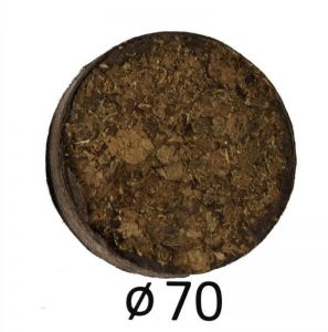 Набор торфяных таблеток Willy Гигант в сеточке, Ø70мм