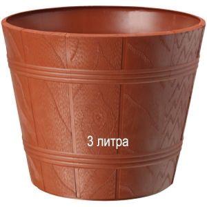 Горшок для цветов Дерево Эльба-1