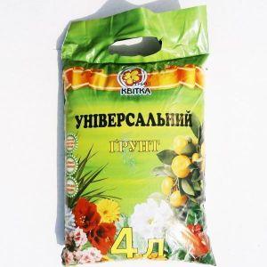 Грунт Квитка универсальный (4 литра)