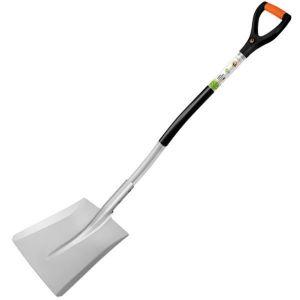 Лопата совковая с металлическим черенком