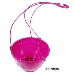 Вазон Лилия подвесная, пурпурный