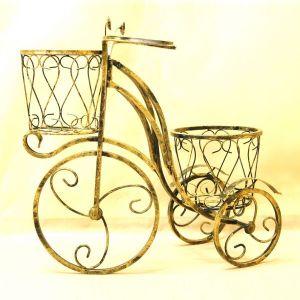 Стойка для цветов Велосипед большой 3