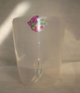 Вазон TWIN орхидея прозрачный, 2 литра