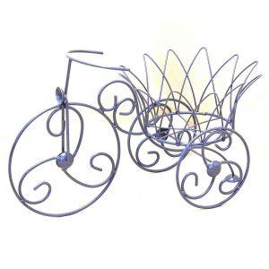 Подставка для цветов Велосипед мини Корона