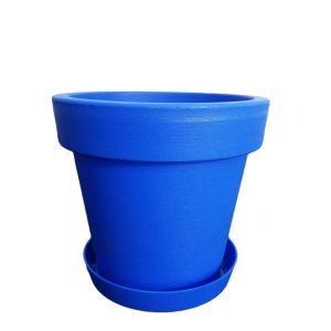 Горшок с подставкой Lofly (Лофли), 1 литр Синий