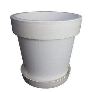 Горшок с подставкой Lofly (Лофли), 3,4 литра Белый