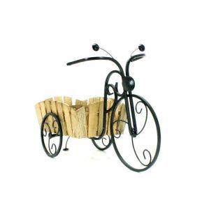 Подставка для цветов Кантри Велосипед маленький