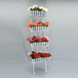 Подставка для цветов Кантри Лестница 4
