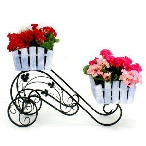 Подставка для цветов Кантри Тачка 2