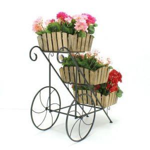 Подставка для цветов Кантри Тачка 3