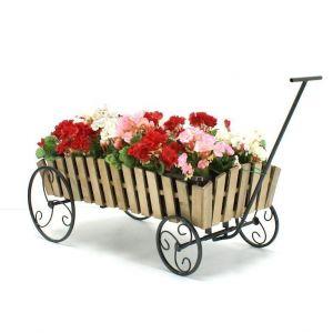 Подставка для цветов Кантри Телега