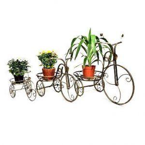 Подставка для цветов Велосипед маленький 1