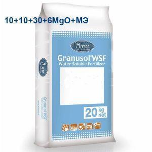 Удобрение Granusol WSF 10+10+30+6MgO+МЭ+MV10