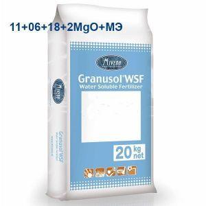 Удобрение Granusol WSF 11+06+18+2MgO+МЭ+MV10 ВВ