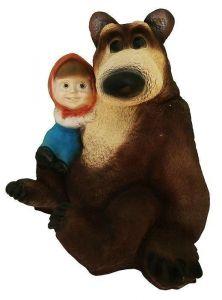 Фигурка декоративная Маша и Медведь