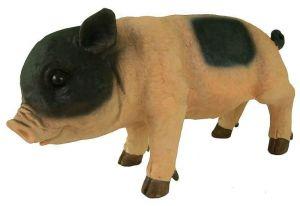 Фигурка декоративная Свинка маленькая, высота 30 см