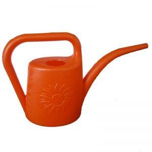 Лейка для комнатных растений Подсолнух 1,8 л Оранжевая