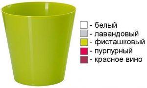 Горшок для цветов Вулкано, Ø15см, V1,8 л