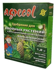 Удобрение Агрекол (Agrecol)  для хвойных растений