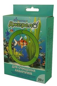 Биопрепарат Джерело  для очистки аквариумов 20 г