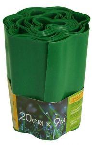 Бордюр волнистый 0,20х9 м, зеленый
