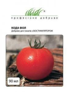 Удобрение для томатов Кода ФОЛ