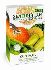 Удобрение Зеленый Гай AQUA огурец 300 г