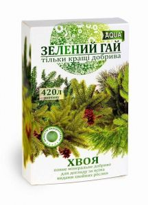Удобрение Зеленый Гай AQUA хвоя 300 г