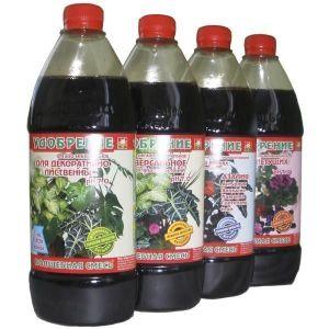 Удобрение для растений, произрастающих на кислых почвах