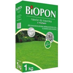Удобрение Biopon для газонов с мхом