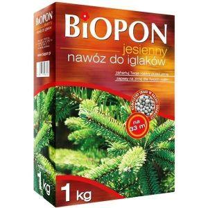 Удобрение Biopon осеннее для хвойных растений
