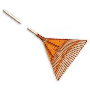Грабли веерные - 24 зубца, черенок деревянный