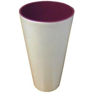Горшок для цветов Вулкано Премиум-200, белый