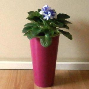 Горшок для цветов Вулкано Премиум-150, фиолетовый