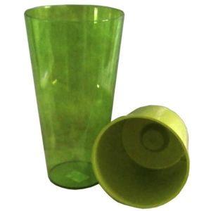 Горшок для цветов Вулкано Премиум-150, зеленый