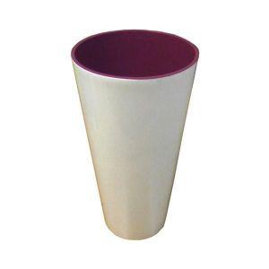 Горшок для цветов Вулкано Премиум-150, белый