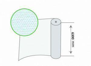 Рулон белого агроволокна 30 г/м.кв, размер 6,3х100м