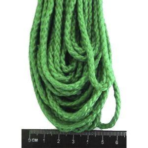 Шнур полипропиленовый плетеный 20 метров, диаметр 3 мм