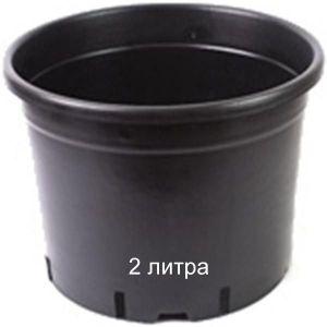 Горшок для растений Vasa Nera Serie Bassa 2 л
